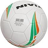 Nivia Machine Stitched Football, Size 5 (White)