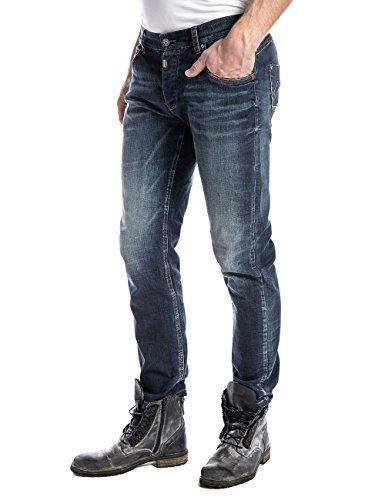 Wash Late para Azul Jeans Hombre Taylortz Timezone wp0Hq6H