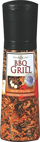 Dean Jacob's Jumbo Chef Size Grinder Mills BBQ Grill (Pack of 6)