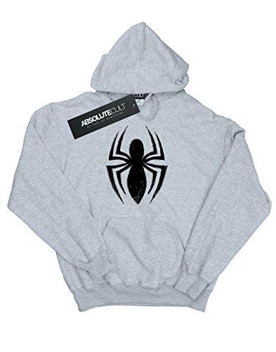 Homme Spider Logo Marvel Gris À Sweat Ultimate man Spider Sport Capuche 74Cddqwx