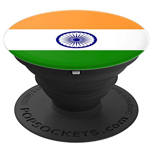 Flag of India - Indian Flag - PopSockets Grip and Stand for Phones and Tablets