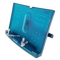 BestBookStand Actto BST-09 Verde 180 ángulo ajustable y soporte de lectura portátil /soporte de libro Soporte de documentos