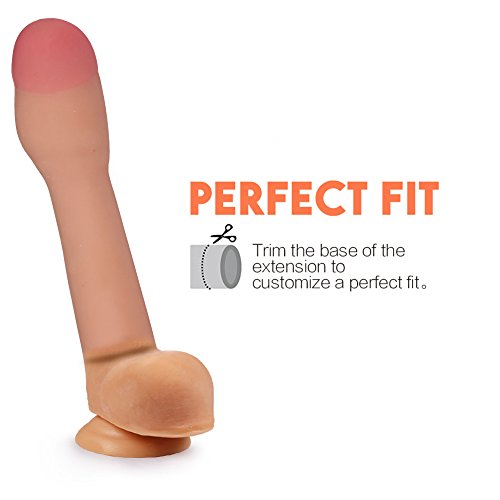 CyberSkin 3-Inch Transformer Penis Extension, Natural
