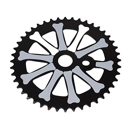 (Fenix Skull Bones Bike Sprocket/Chainring, 44T 1/2 X 1/8)