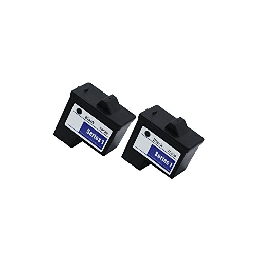 2PK For Dell T0529 NEW BLACK PRINTER INK CARTRIDGE 720/920
