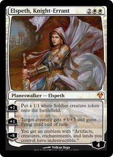 Magic The Gathering Elspeth Knight Errant Modern Event Deck Singles