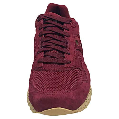 Uomo Gold Shoe Per Saucony Maroon Shadow FqfZWwB4