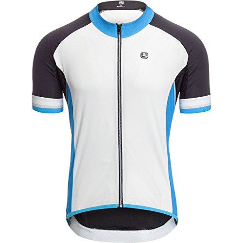 Giordana SilverLine Classic Short-Sleeve Jersey - Men's White/Blue, L