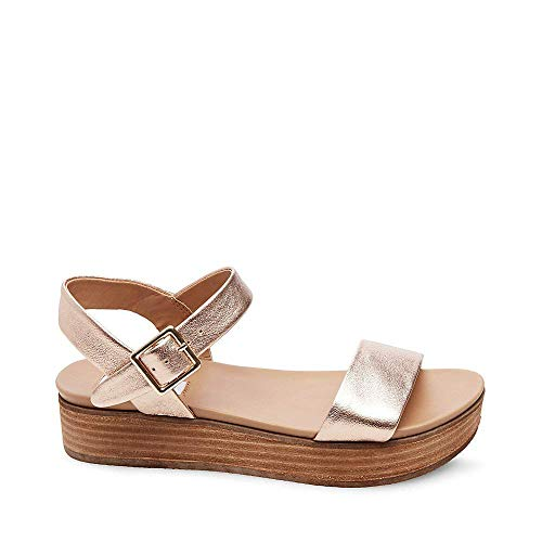 Madden Rose Us Gold 7 Women's Aida Steve Sandal 0 dP4qtPO