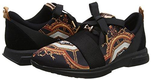Baker Sneakers Women's Ted Black Cepa black 000000 Versailles zgpww