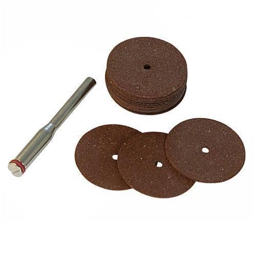 18 pzas /Ø22 mm Silverline 763600 Discos de corte metal para herramienta rotativa