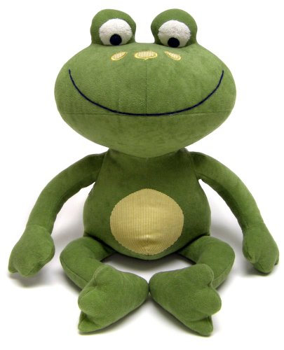 NoJo Jungle Babies Freddie The Frog - Stuffed Animal ()