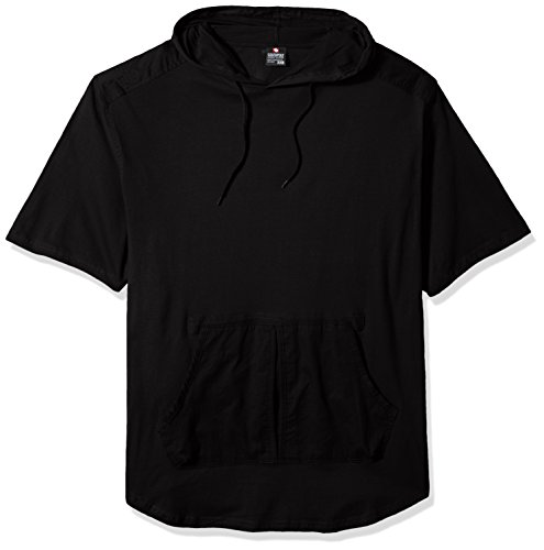 southpole-mens-big-and-tall-short-sleeve-scallop-hoodie-with-finetwill-detail-black-5xb