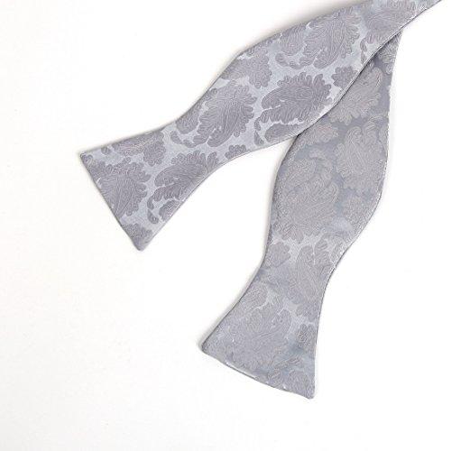 VS1006-3XL Graue Muster-Weste-M?nner Krawatten-Manschettenkn?pfe Taschentuch ??Fliege Vati-Geschenk durch Y&G