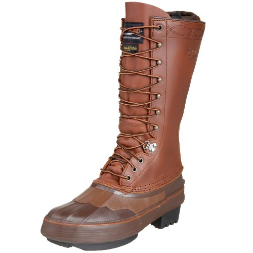 "Kenetrek Men's 13"" Cowboy Insulated Boot,Brown,13 M US"