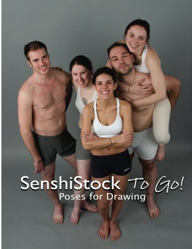 "SenshiStock To Go! is a full color, 8.5 x 11"" book with 144 professionally photographed, full body models in form fitting clothing for your drawing reference and art creation pleasure. There's a wide variety of poses, models, and props. There's persp..."