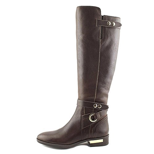 5 High Brown Calf Women Boot Camuto Knee Wide Vince US Prini wBzZq6xY