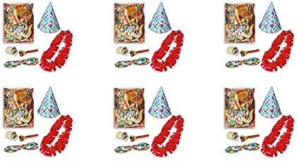 ALMACENESADAN 9959, Pack 6 cotillones para Fiestas y ...