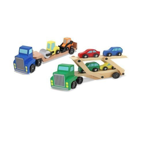 Melissa and Doug Car Carrier & Low Loader ()