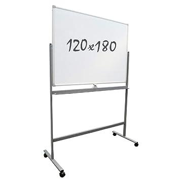 Pizarra Blanca/Móvil/Doble Cara/Magnética - 120x180 cm ...