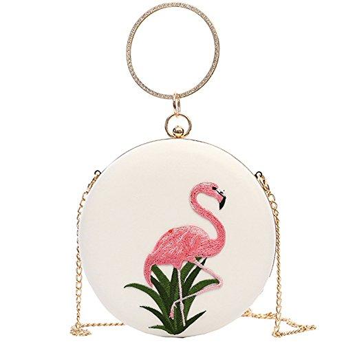 Big Bag For Messenger Bag Round Womens Handbag White Shoulder Women Fashion Package Handbag Minimalist Bag Purse 1W8xwU