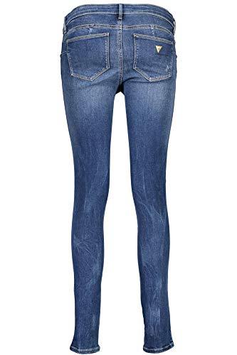 Guess Jeans Donna Denim Blu Upsi W73aj2d2cn3 UpqrYxU