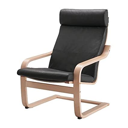 Amazon.com: Ikea Poang Armchair Birch Veneer with Robust ...
