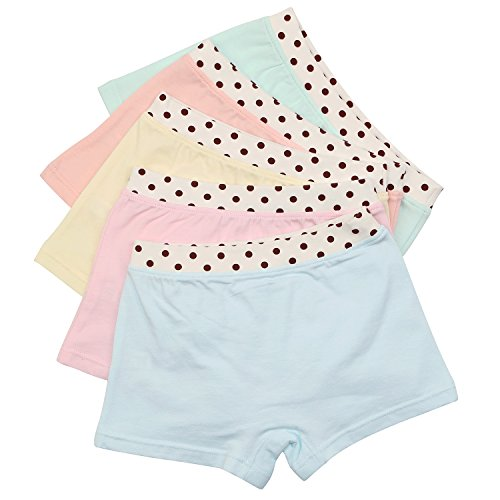BOOPH Girls Cotton Underwear Elephant Hipster Panties for Kids (3-4 Years/L, Elephant) by BOOPH (Image #2)
