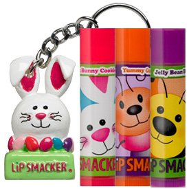 Lip Smacker Easter Jelly Bunny Lip Balm Collection & Keychain Topper