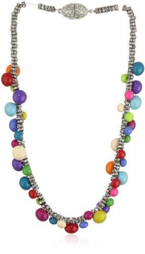 """Tova Jewelry"""" Neon brights """"Bubblegum Necklace"""