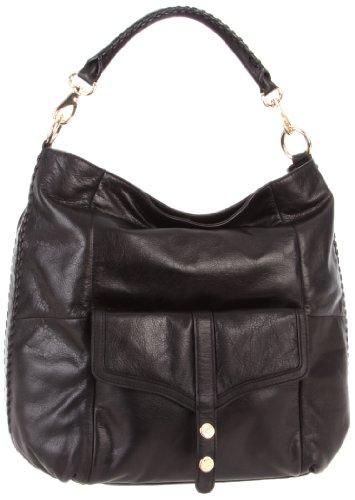 Rebecca Minkoff Drew 10HICOCF32 Hobo,Black,One Size, Bags Central