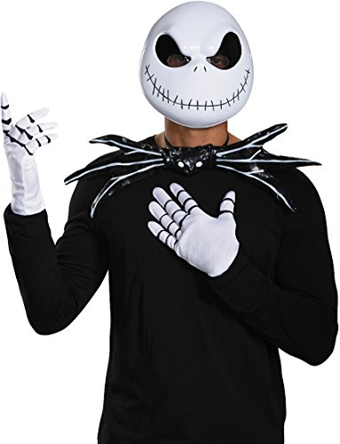 [Jack Skellington Kit Costume Accessory Set] (Skeleton Jack Costumes)