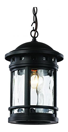 1Lt Hanging Lantern-Md-Water-B by Trans Globe