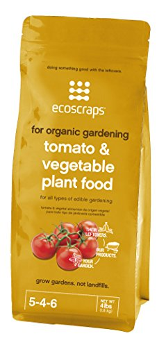 EcoScraps PFTV174404 Natural/Organic Tomato, Herb and Vegetable Plant Food