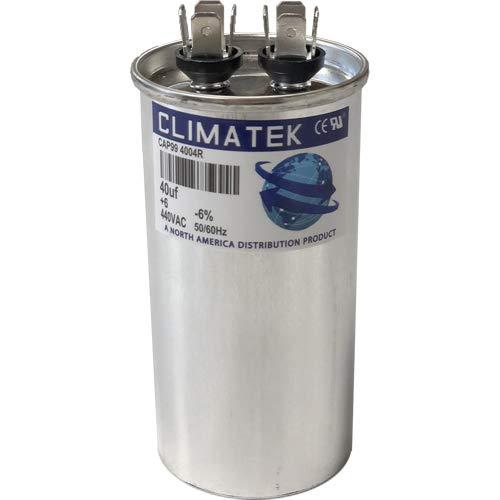fits York # 1499-4741 1499-3271 ClimaTek Round Capacitor 40 uf MFD 370//440 Volt VAC