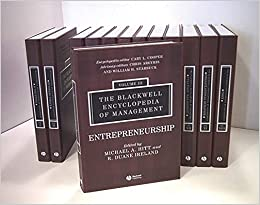 The Blackwell Encyclopedia of Management: 12 Volume Set 9780631233176 Higher Education Textbooks at amazon
