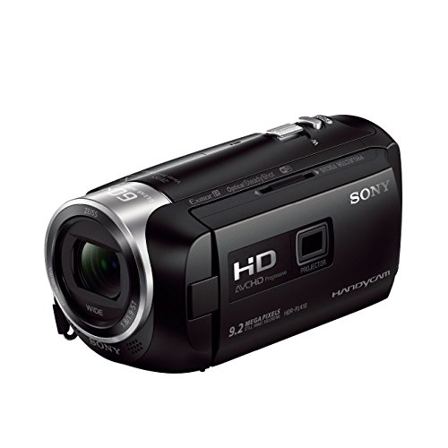 Sony Camera Dock - Sony HDR-PJ410 Full HD Camdorder with Built-In Projector (30x Optical Zoom, Optical SteadyShot, Wi-Fi and NFC)