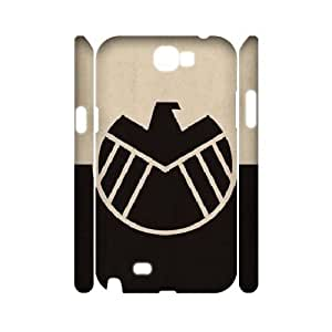 LTTcase Custom agents of shield 3D Hard Case for samsung galaxy note2 n7100