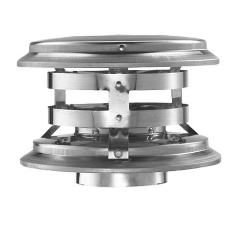 DuraVent 4PVP-VC Vertical Cap, (Double Chimney Cap compare prices)