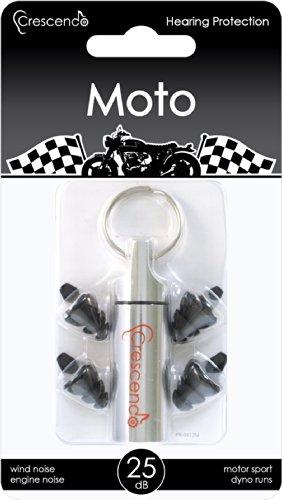 CRESCENDO 耳栓 レーサー用 イヤープロテクター Moto