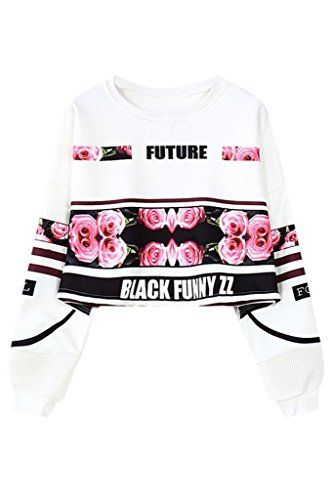 Tailloday camisa de algodón para mujer talla extra grande ?Rose#1