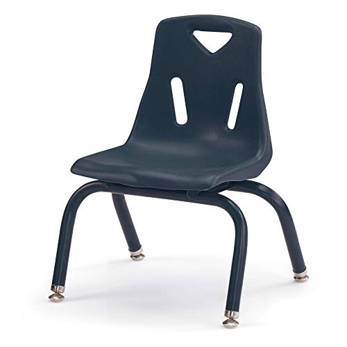 Berries 8120JC6112 Stacking Chairs with Powder-Coated Legs, 10