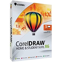 CorelDRAW Home and Student Suite X6 - 3 Users (Old Version)