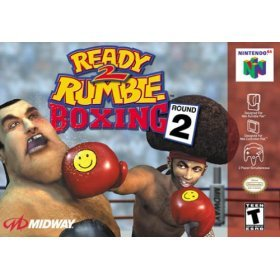 READY 2 RUMBLE BOXING ROUND 2 (NINTENDO N64 VIDEO GAME CARTRIDGE) (READY 2 RUMBLE BOXING ROUND 2 (NINTENDO N64 VIDEO GAME CARTRIDGE), READY 2 RUMBLE BOXING ROUND 2 (NINTENDO N64 VIDEO GAME CARTRIDGE))