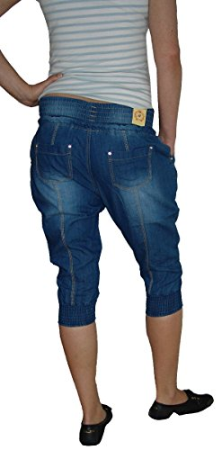 Bleu Femme Bleu Miss us One Jeans Bleu Sarouel wXTpfqz