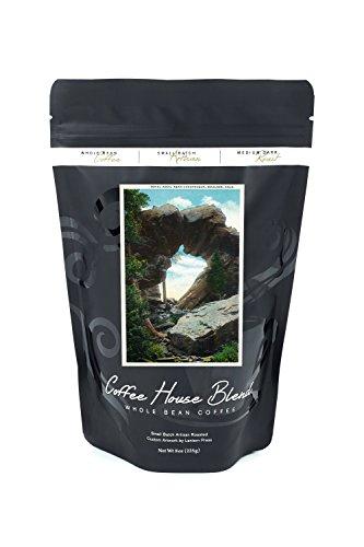 Boulder, Colorado - View of the Royal Arch Rock Formation near Chautauqua (8oz Whole Bean Small Batch Artisan Coffee - Bold & Strong Medium Dark Roast w/ Artwork)