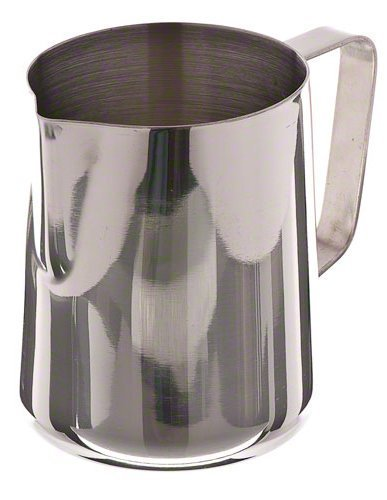 Update International EP-33 Stainless Steel Frothing Pitcher, 33-Ounce, Set of 24