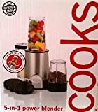 Cooks by JCPenny Home, Cooks 5-in-1 Power Blender – Stainless Steel Review