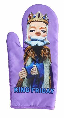 Surreal Entertainment Mister Rogers Neighborhood King Friday Puppet Oven Mitt   TV Show Merchandise