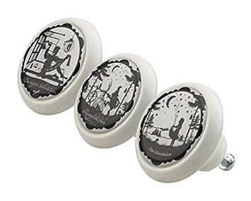 Mobelknopf Set 0193 Kinder Marchen 3er Keramik Porzellan Griffe Und